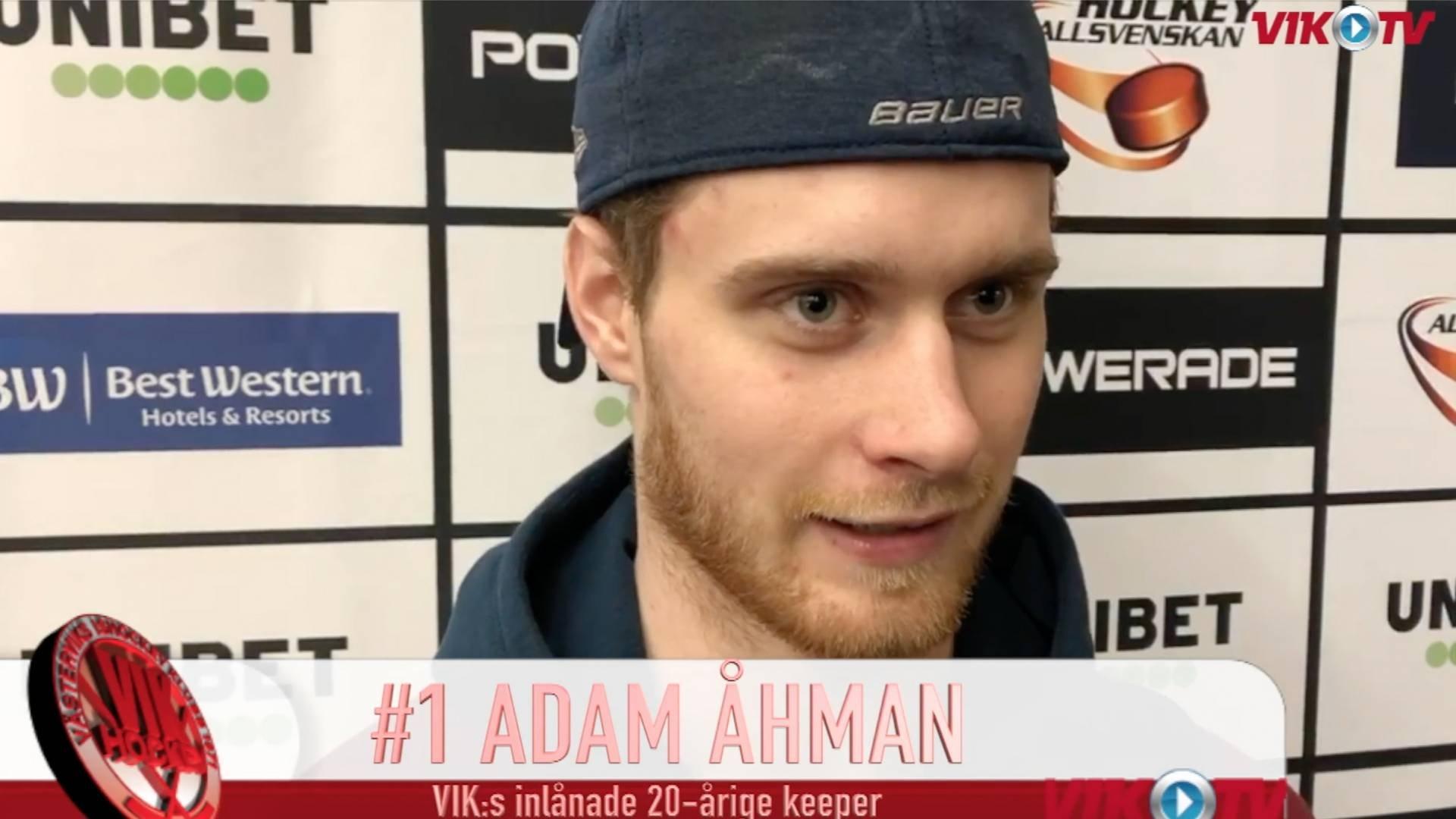 VIK-TV: Adam Åhman om återkomsten till moderklubben