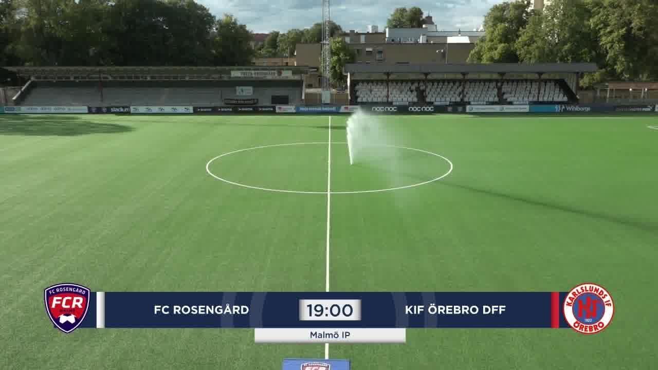 Highlights: Rosengård - KIF Örebro 24 juli