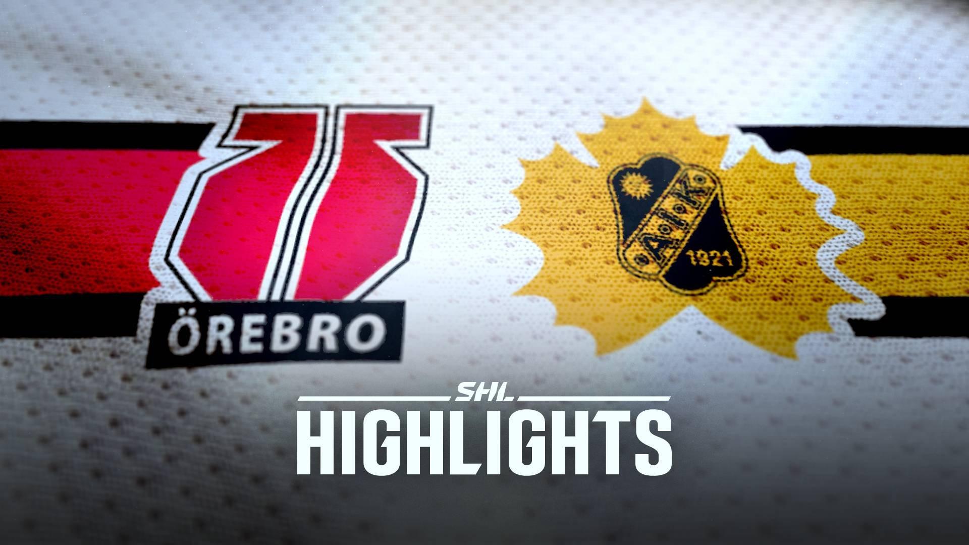 Örebro Hockey - Skellefteå AIK