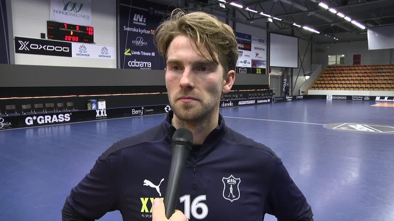 """Kasper Hedlund """"Vi vinner välförtjänt"""""""