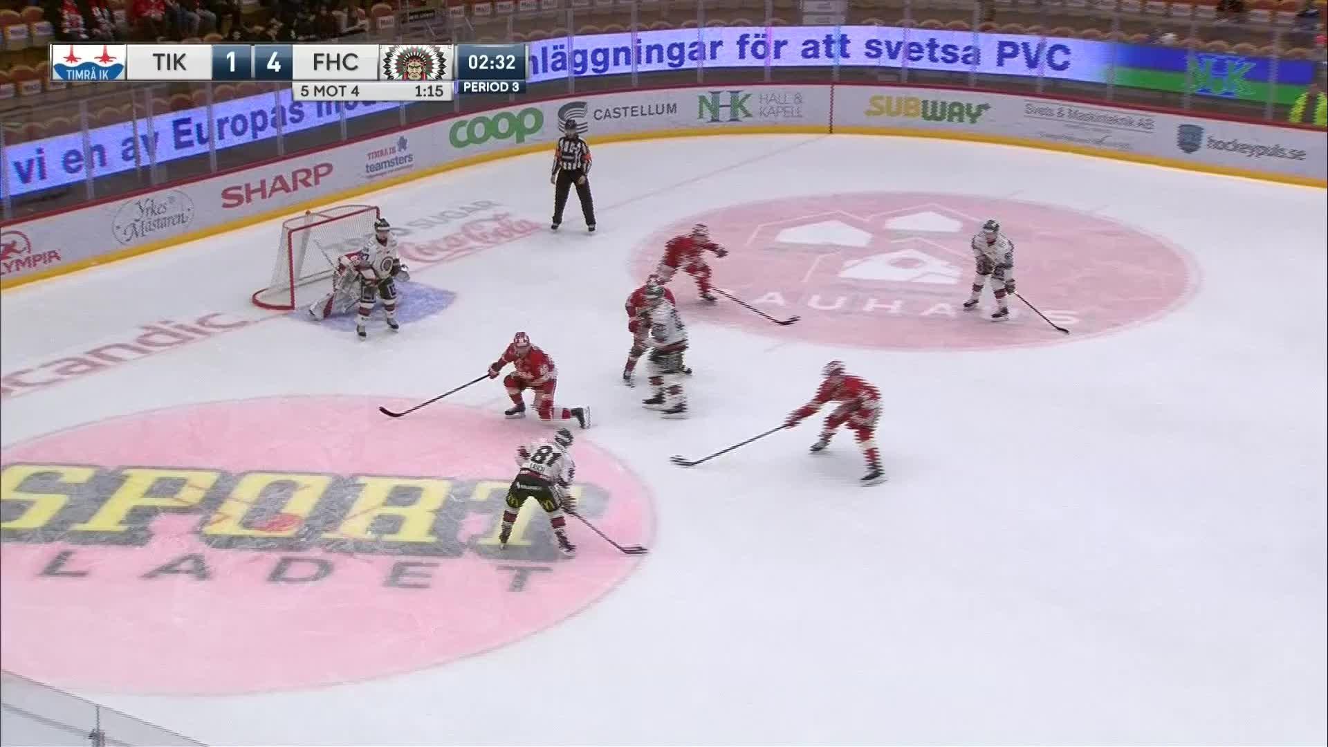 Timrå IK - Frölunda HC 1-5