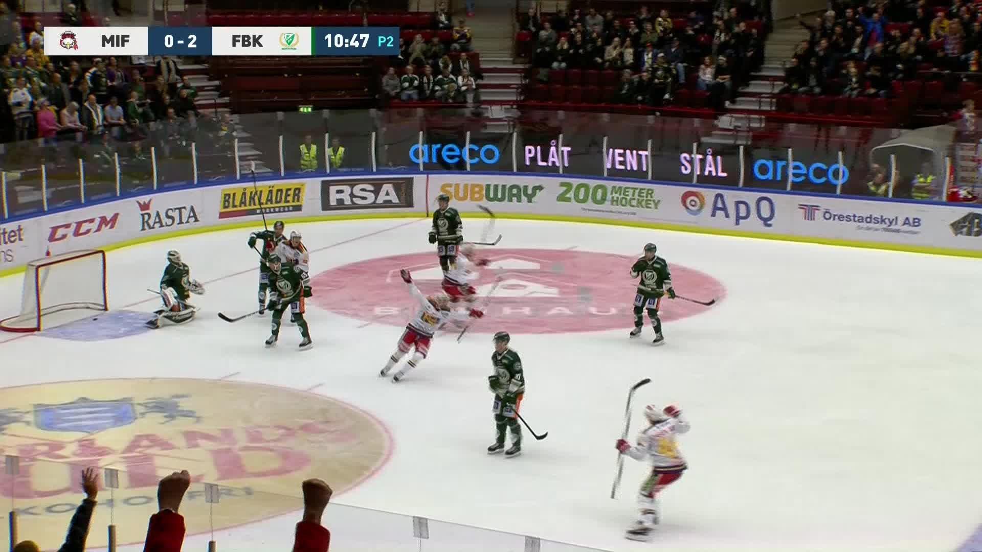 Malmö Redhawks - Färjestad BK 1-2