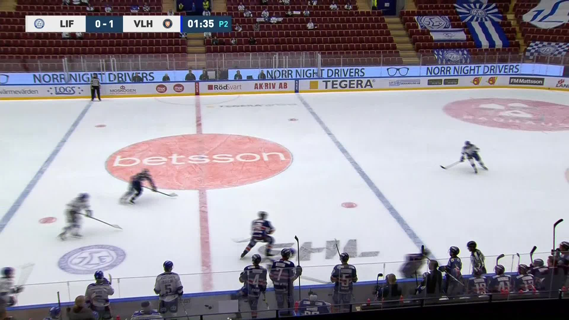 Leksands IF - Växjö Lakers 0-2