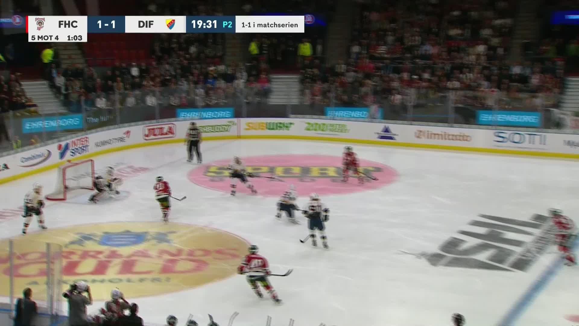 Frölunda HC - Djurgården Hockey 2-1