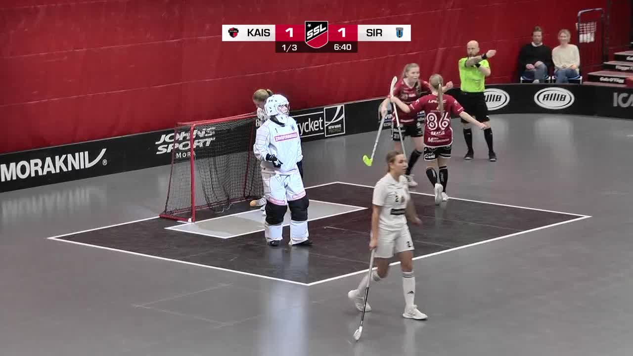 Highlights: KAIS Mora IF-Sirius Innebandy