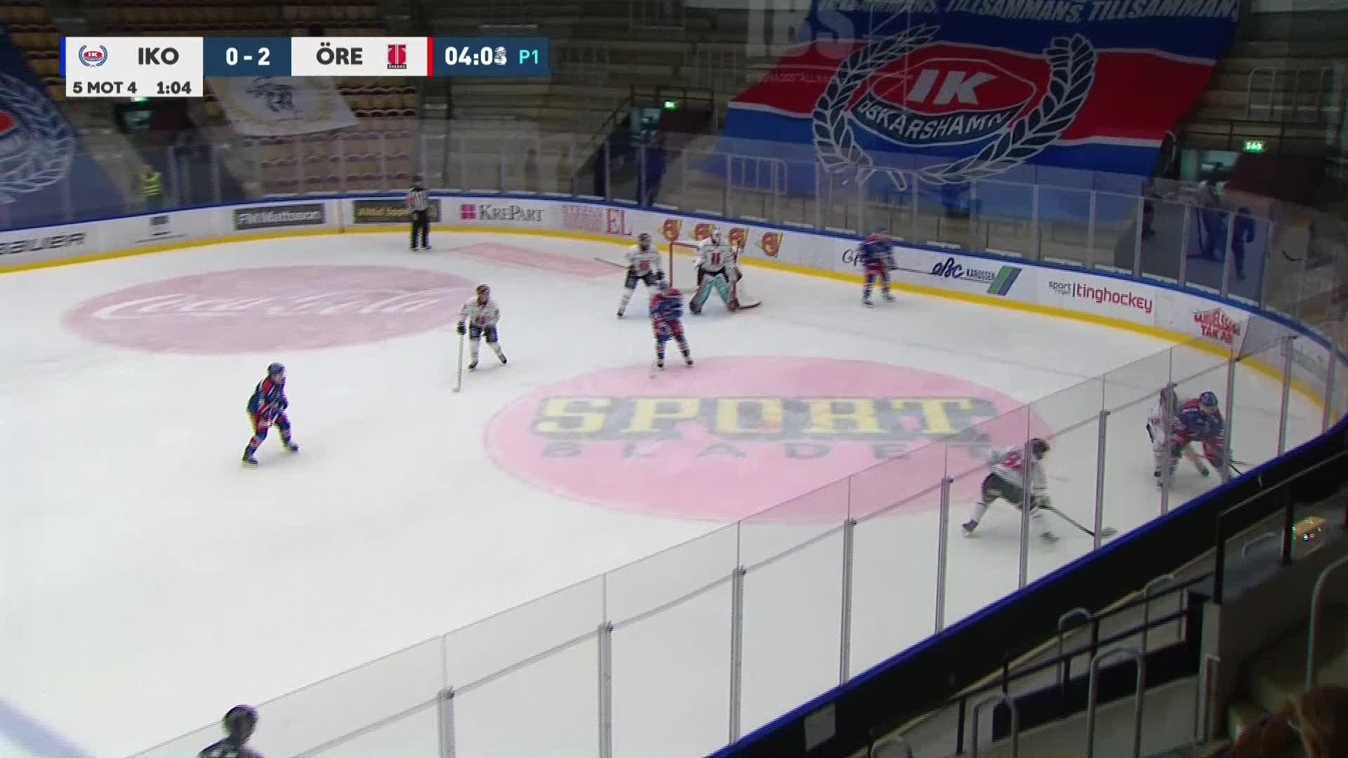 IK Oskarshamn - Örebro Hockey 1-2