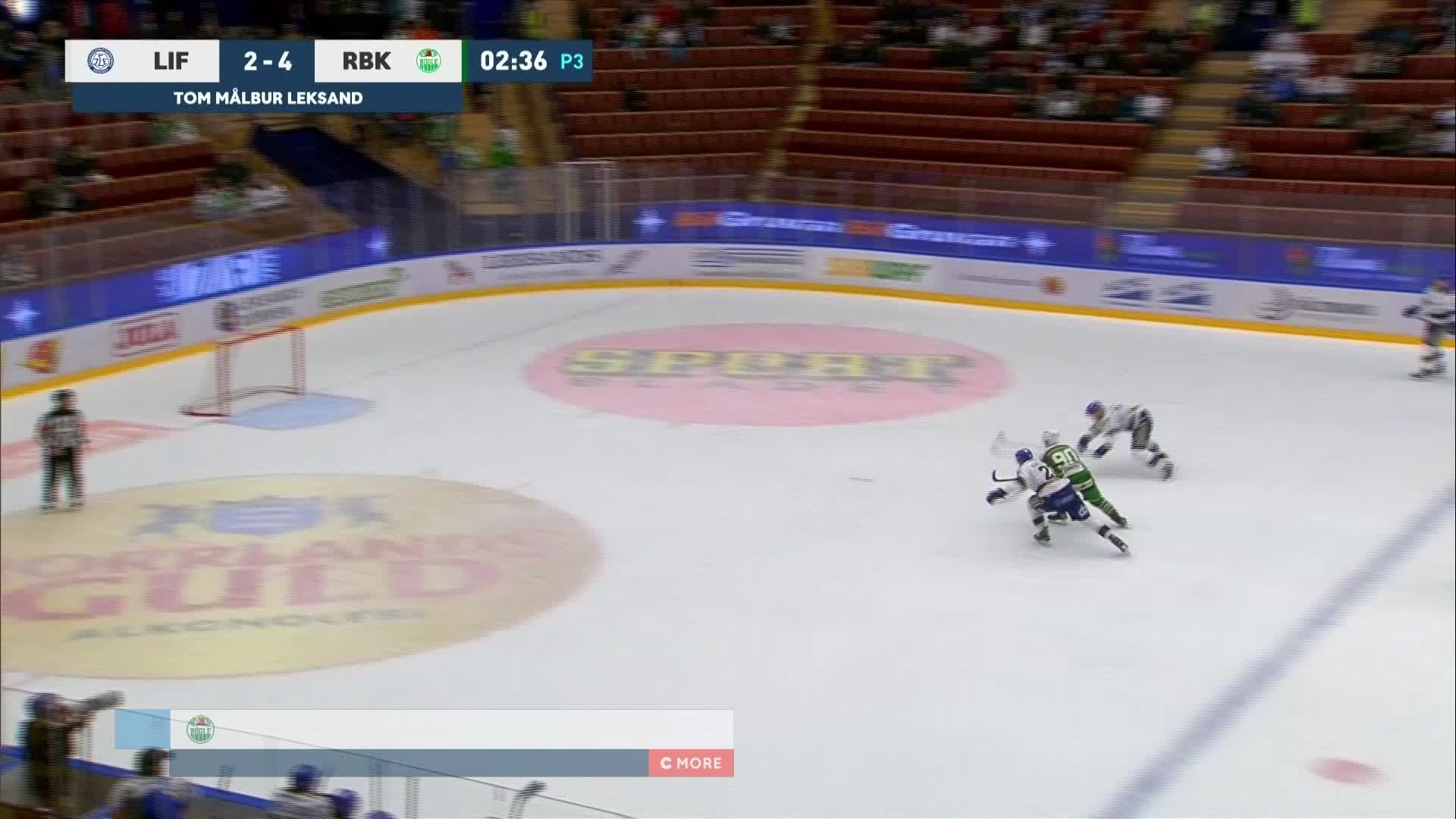 Leksands IF - Rögle BK 2-5