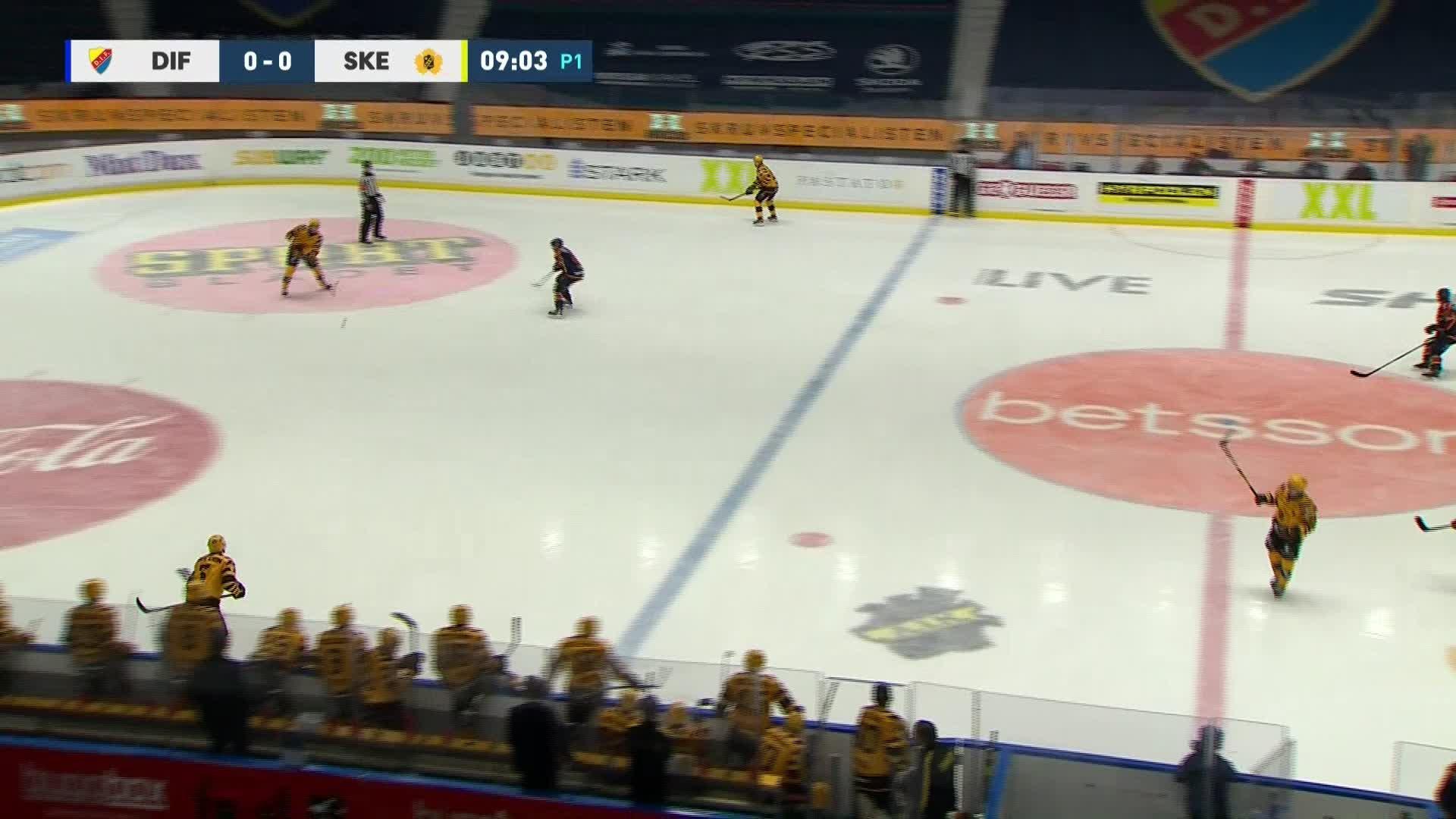 Djurgården Hockey - Skellefteå AIK 1-0