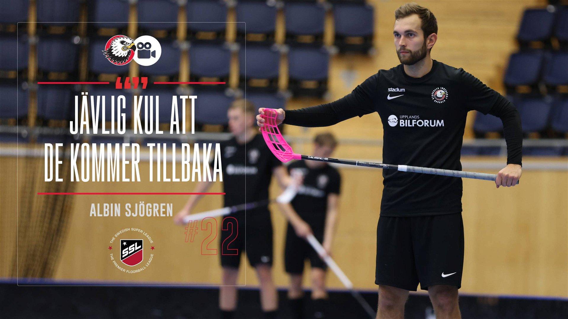 """Albin Sjögren """"Hoppas det blir fullsatt"""""""