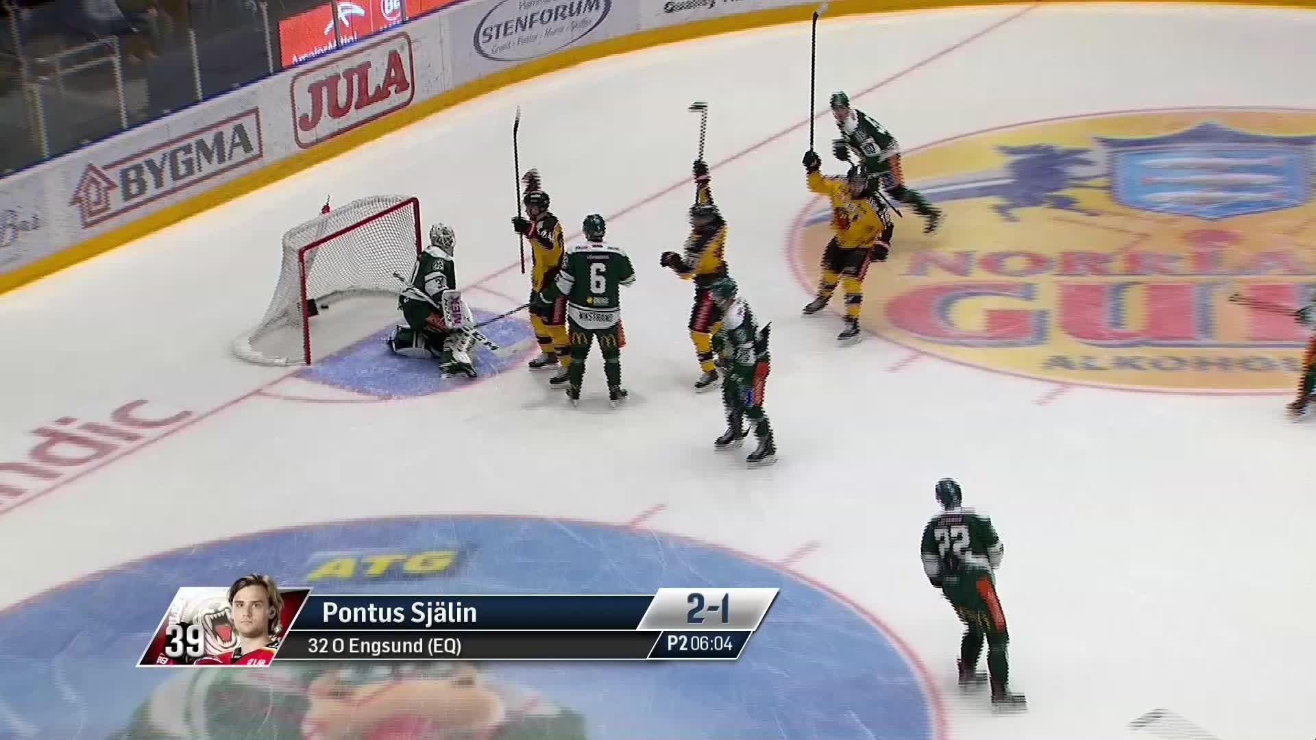 Färjestad BK - Luleå Hockey 2-1