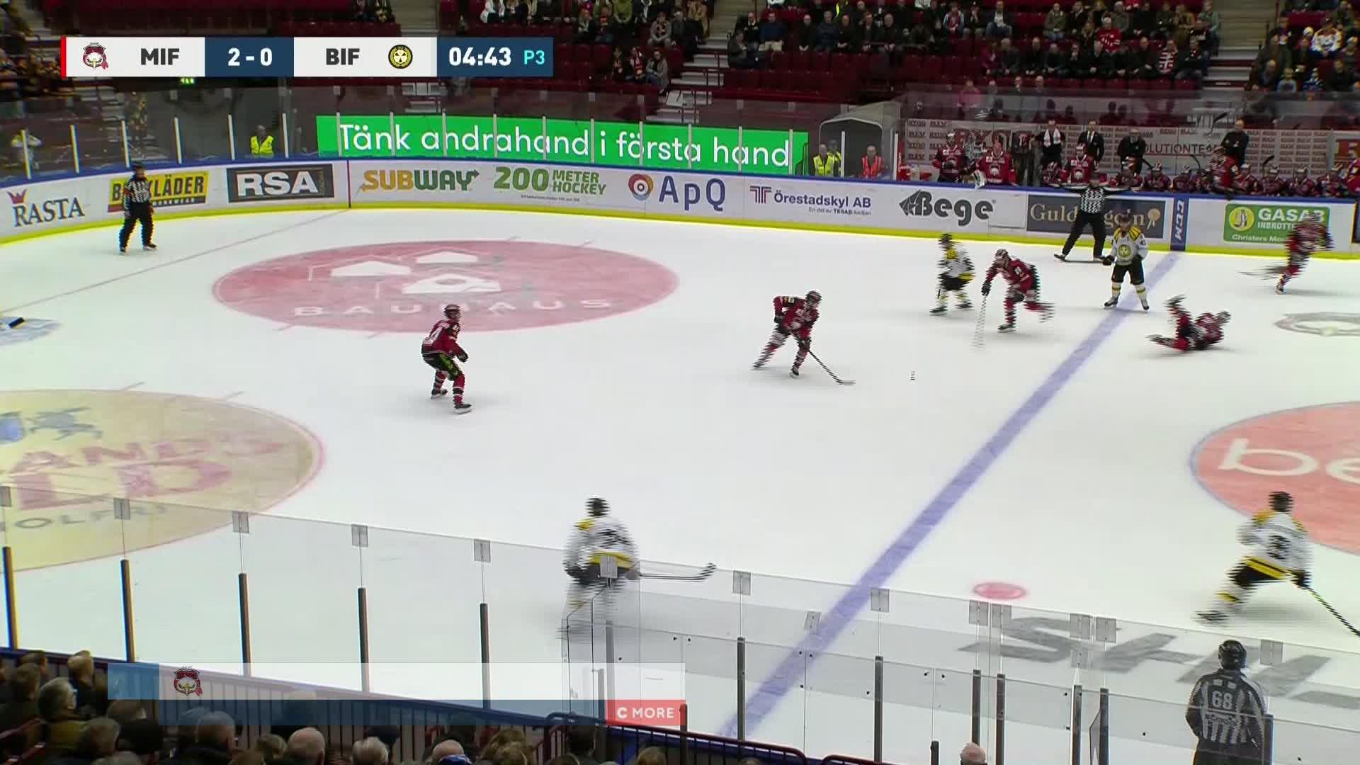 Malmö Redhawks - Brynäs IF 3-0