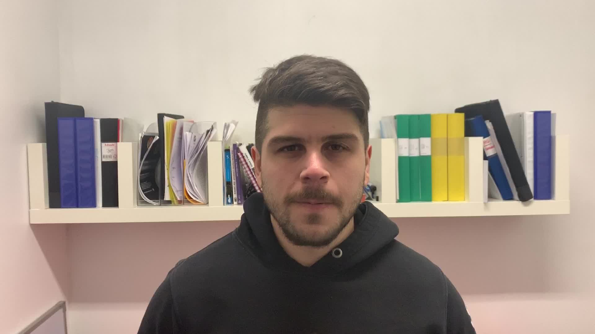 Serhan Cicek efter dagens juniormatcher