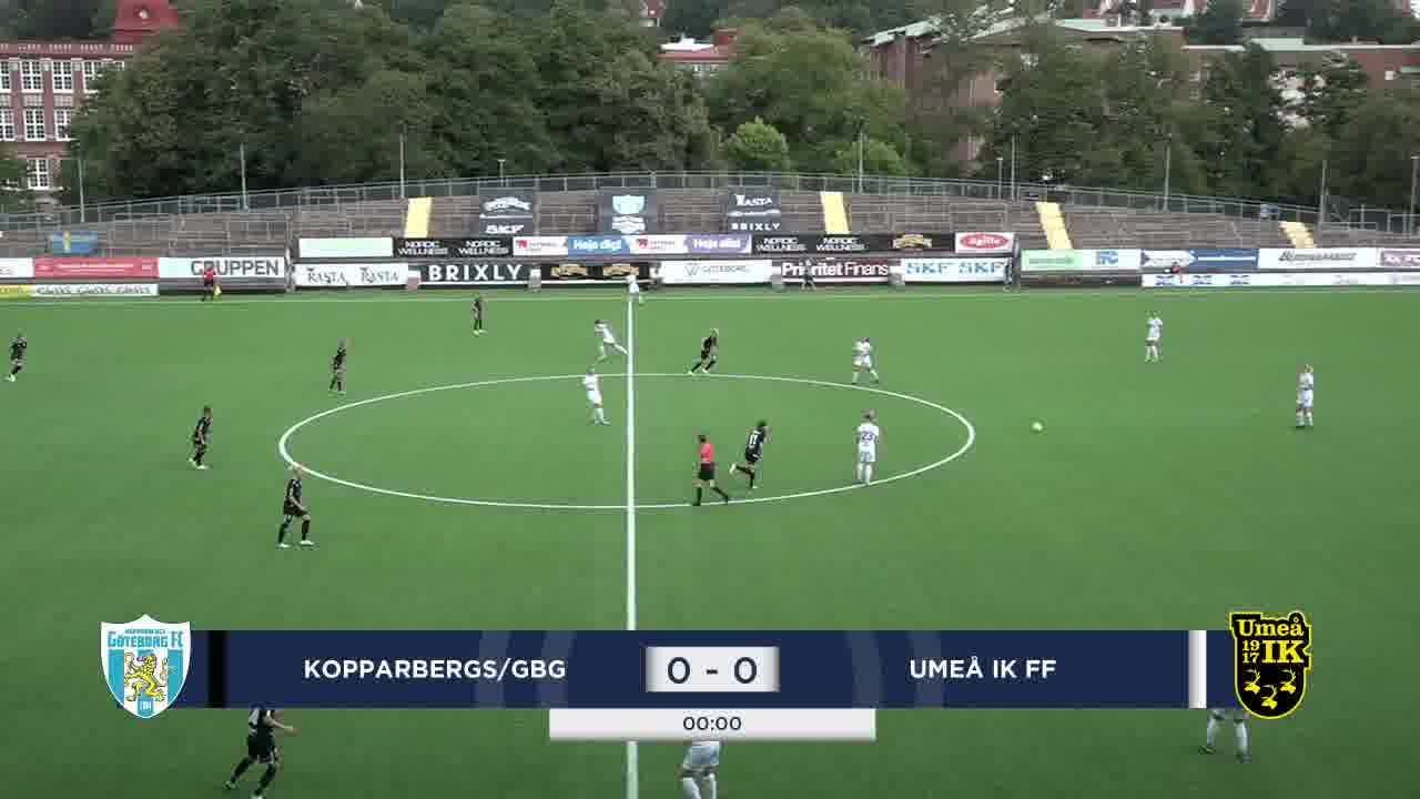 Highlights: Kopparbergs - Umeå 17 aug