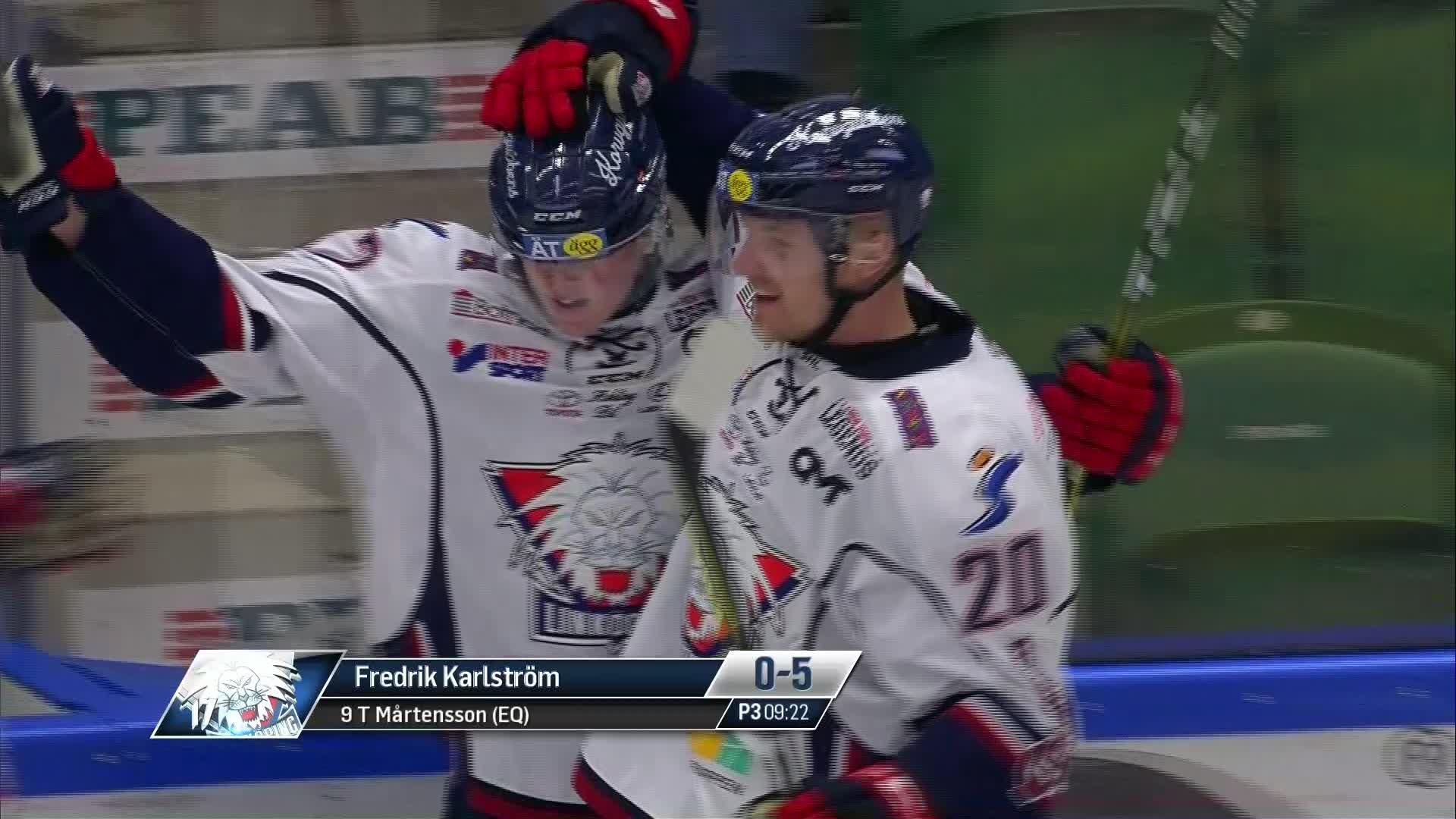 Rögle BK - Linköping HC 0-5