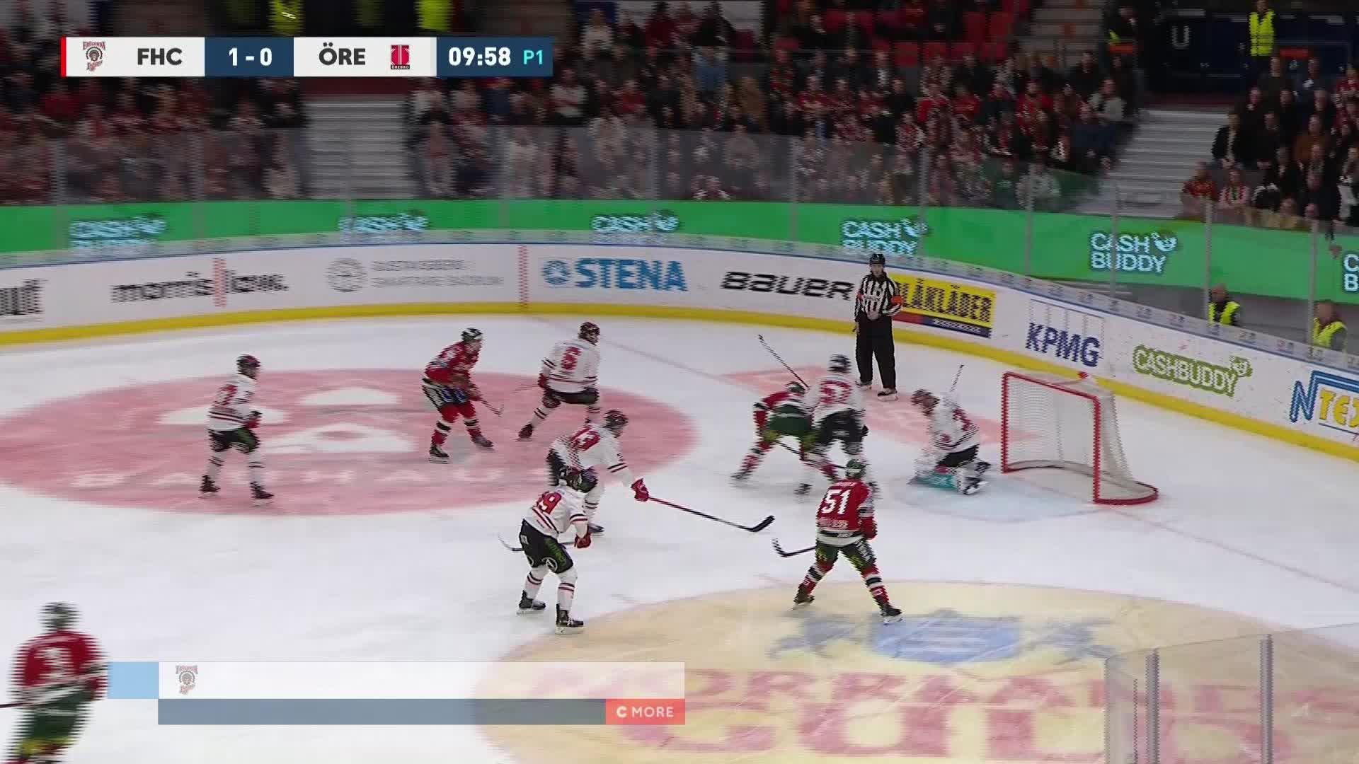 Frölunda HC - Örebro Hockey 2-0