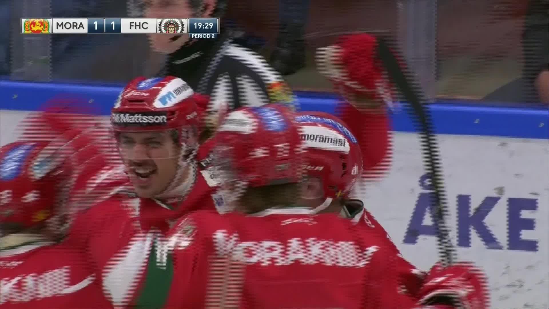Mora IK - Frölunda HC 1-1