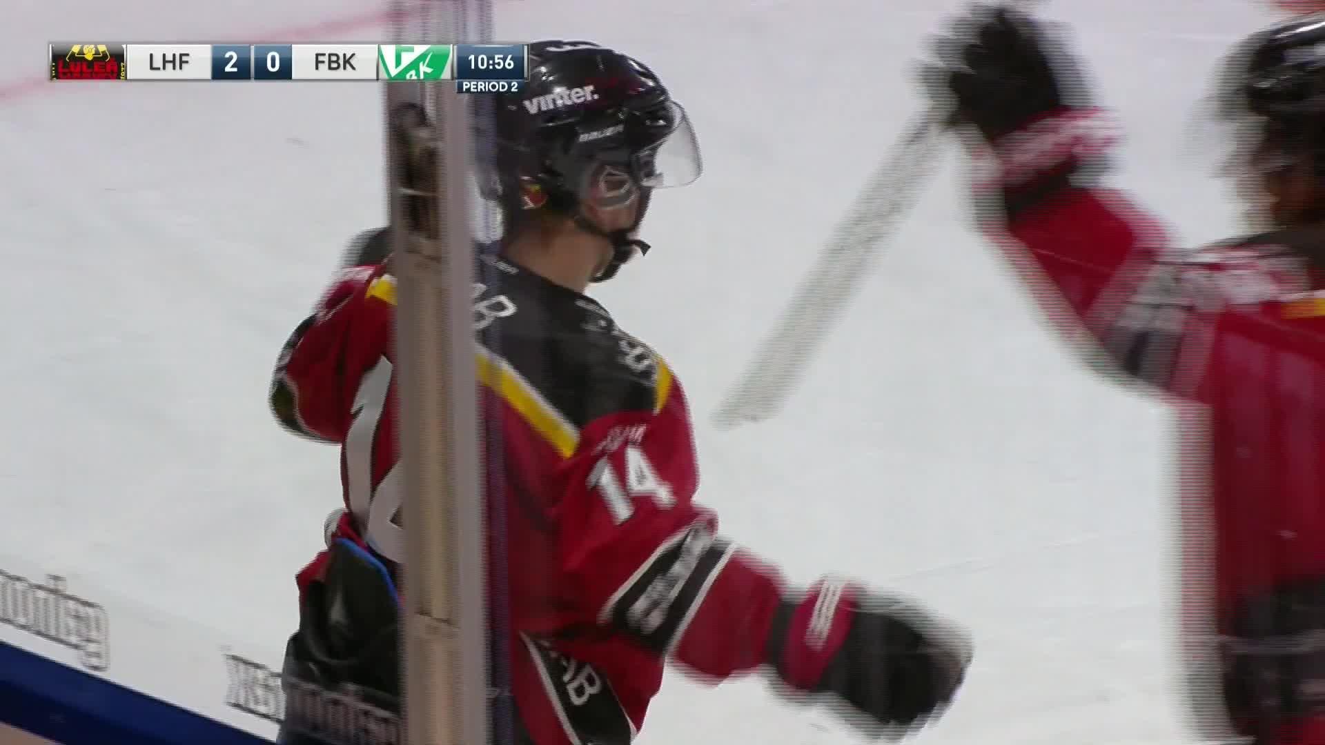 Luleå Hockey - Färjestad BK 2-0